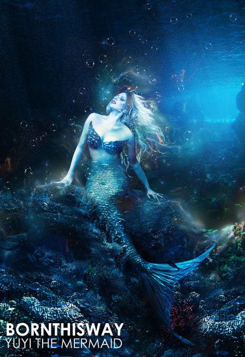 Very pretty Yüyi the mermaid manip by Will Evan