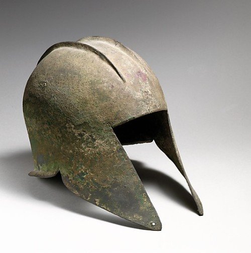 omgthatdress:  Illyrian type helmet ca. 5th century BC via The Metropolitan Museum of Art
