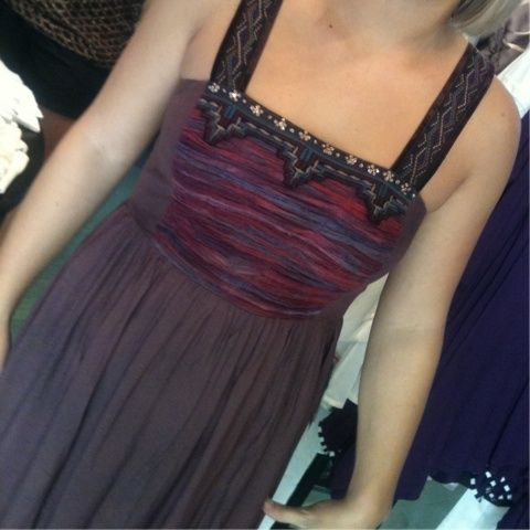 #freepeople amazing flowing hemline #embellished bodice #ootra boutique 1-312-852-7500 (Taken with Pose)