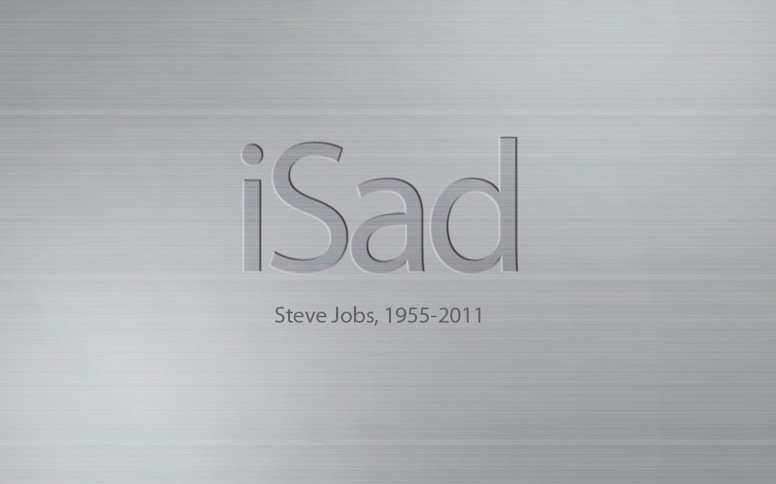"Today: October 5th 2011 Apple Founder, Marketing genius Steve Jobs Died at the age of 56 From Pancreatic Cancer. This man was the absolute godfather of technology. Something like this happens and it touches almost every person in the world. Im truly sorry for his family and after all these years of working on Macs as a designer or even my first experience with Oregon Trail as a small child on an apple computer, I remain optimistic as to what the future will hold for Apple. Steve Jobs was truly an individual mind that will stand out for years to come. God speed to you sir… And I Quote: ""death is the destination we all share. No one has ever escaped it. And that is as it should be, because death is very likely the single best invention of life. It's life's change agent; it clears out the old to make way for the new. right now, the new is you. But someday, not too long from now, you will gradually become the old and be cleared away. Sorry to be so dramatic, but it's quite true. Your time is limited, so don't waste it living someone else's life. Don't be trapped by dogma, which is living with the results of other people's thinking. Don't let the noise of others' opinions drown out your own inner voice, heart and intuition. They somehow already know what you truly want to become. Everything else is secondary."" - Steve Jobs"