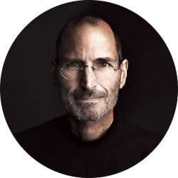 hikenny:  Steve Jobs by Marco Grob  Leader. 'stay hungry, stay foolish.'