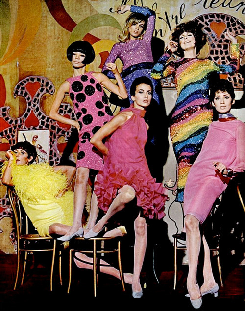 fuckyeah60sfashion:  Pierre Cardin, 1965.