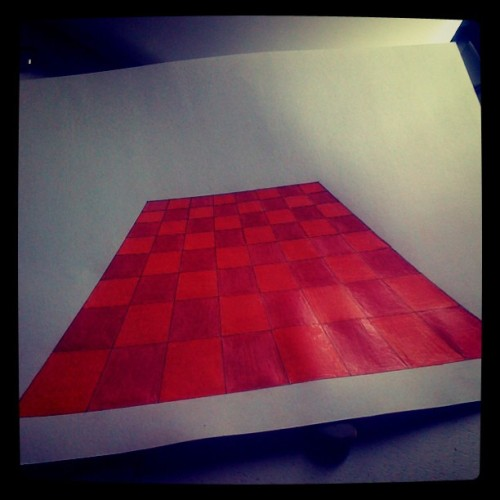 #drawing #color #orange #graphicdesign  (Taken with instagram)