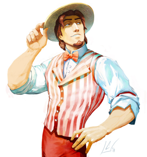 yeah-disneygeek:  disneyonthehour:  thatdisneylover:  Dapper Flynn by ~ColossalBeltloop NOOOOOO. DON'T COMBINE MY FAVORITE THINGS. I'M DEAD NOW. Oh, wow! :D   my god