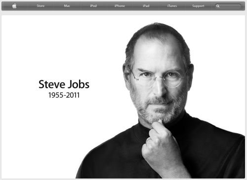 "The man who gave us iMac, iPod, iPhone, iPad, iNspiration, iMagination, and iNnovation. I never really regretted for not being in the era of all inventions with people like Edison, Telsa and many more geniuses. I guess Steve Jobs had a lot to do with that. There's a reason why the fanboys of Apple are so different from the Droids / Linuxes / the PCs. We don't luv the products just for the greatness of products, but for the vision behind them, and more importantly the MAN who dreamt them and made it a reality. I'll surely miss Steve Jobs, the technology wizard, the artist, the visionary and more importantly the dreamer. I end this with my most favorite quote from him - ""Your time is limited, so don't waste it living someone else's life. Don't be trapped by dogma — which is living with the results of other people's thinking. Don't let the noise of others' opinions drown out your own inner voice."""