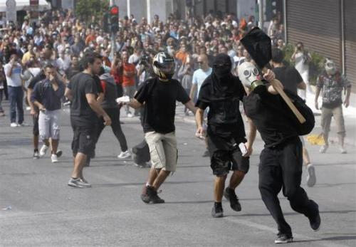 #GreekRevolution 5 Oct 2011