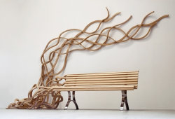 knowinng:   Spaghetti Bench by Pablo Reinoso