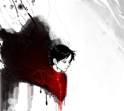 cute-stuff-bart:  So, I drew re-boot Tim Drake. hurdur. how do i use textures. -cough-