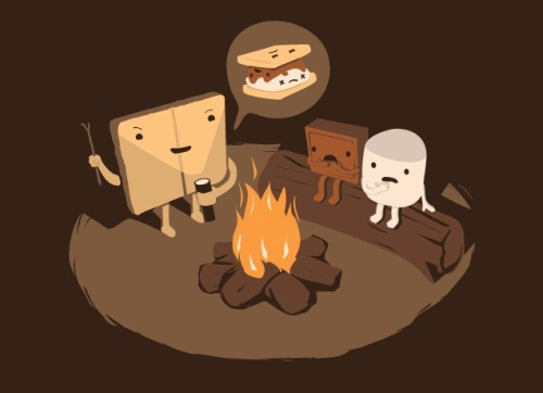 wickedclothes:  Tell us s'more! Threadless is having a MASSIVE SALE — all shirts are just $10! Click here to check it out!