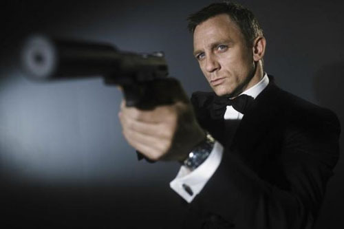Bond 23 gets a title? It's always an anxious wait to find out the name of the next Bond film.With everyone getting bored of calling it Bond 23, the news that Daniel Craig's next outing as the superspy may have a title is pretty exciting.Eagle-eyed sleuths have noticed Sony have been buying up plenty of domain names that strongly hint at the new title…[TO FIND OUT THE TITLE, CLICK ON 007 OR FOLLOW THIS LINK]