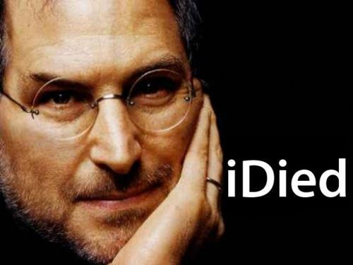 Sorry, but to me this was pretty entertaining…. RIP Steve Jobs.