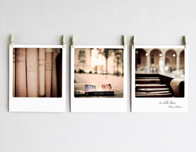 Paris Polaroids by Darjeeling Unlimited.