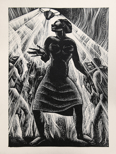 "Lynd Ward - Wood Engraving for Alec Waugh's ""Most Women…"" (1931) by Thomas Shahan 3 on Flickr."