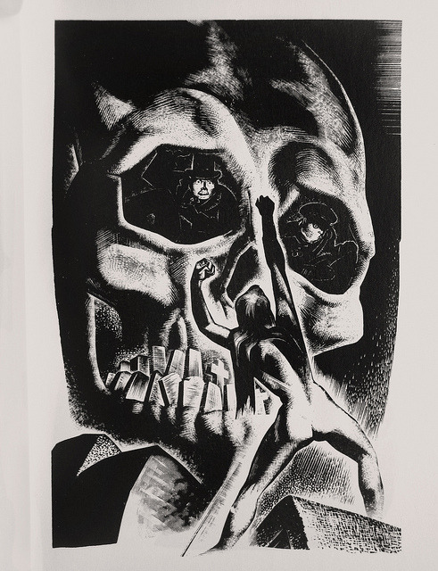 "Lynd Ward - Wood Engraving for ""Song Without Words"" 1936 by Thomas Shahan 3 on Flickr."