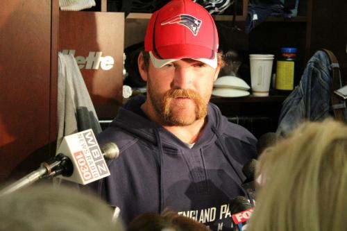 "Logan Mankins recovering from ACL surgery, hopes to be ready for training camp. Well there's a retroactive stomach punch for you. This clarifies a few items: When Belichick called Manking ""Super Tough"" he wasn't kidding. Mankins likely played three playoff games against tough defensive fronts with the injury. Hard to know if it was a complete tear but regardless, Philip Rivers got a lot of love for playing just one game on a torn ACL. Mankins played three. Robert Gallery signing seems a little bigger now than it did Monday. Gallery has been at LG for the past few years and it would appear to be his best spot. Hopefully we won't need him to start, but you can't rule out a start to the season on the PUP for my Mankins. Mankins now will get a pass on his Super Bowl performance which lacked luster."