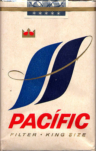 Designersgotoheaven.com - Pacific Vintage Cigarette Pack. (via ThinkMULE)