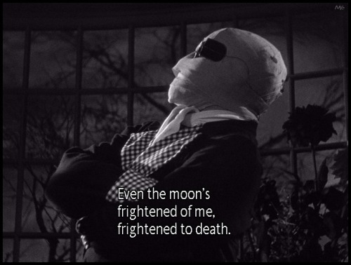 the-asphalt-jungle:  Claude Rains - The Invisible Man (1933)