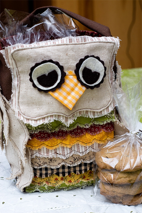 cutesiecraft:  DIY Owl Bag