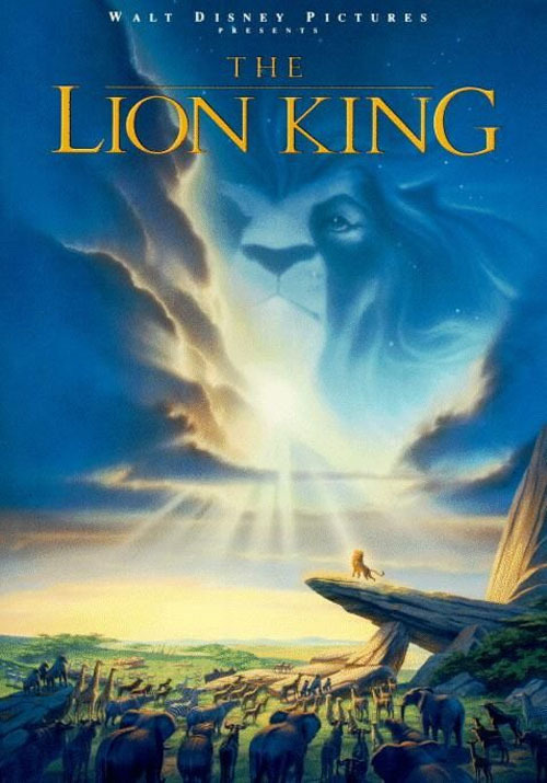 totalfilm:  30 Best '90s Movie Posters 2. The Lion King (1994)Representative Of The Film? Beautiful, atmospheric and eye-catching all in one go, just like Disney's emotional big-hitter.Coolest Detail: It manages to be magical with little more than a bit of sun and stars, which is no mean feat.[FOR 29 MORE GREAT '90s POSTERS, CLICK ON THE LION KING OR FOLLOW THIS LINK]