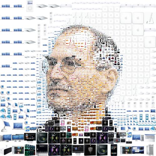 Steve Jobs: A Mega, Meta Mashup in Tweets