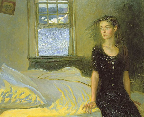 Jamie Wyeth, If Once You Have Slept on an Island (1996)