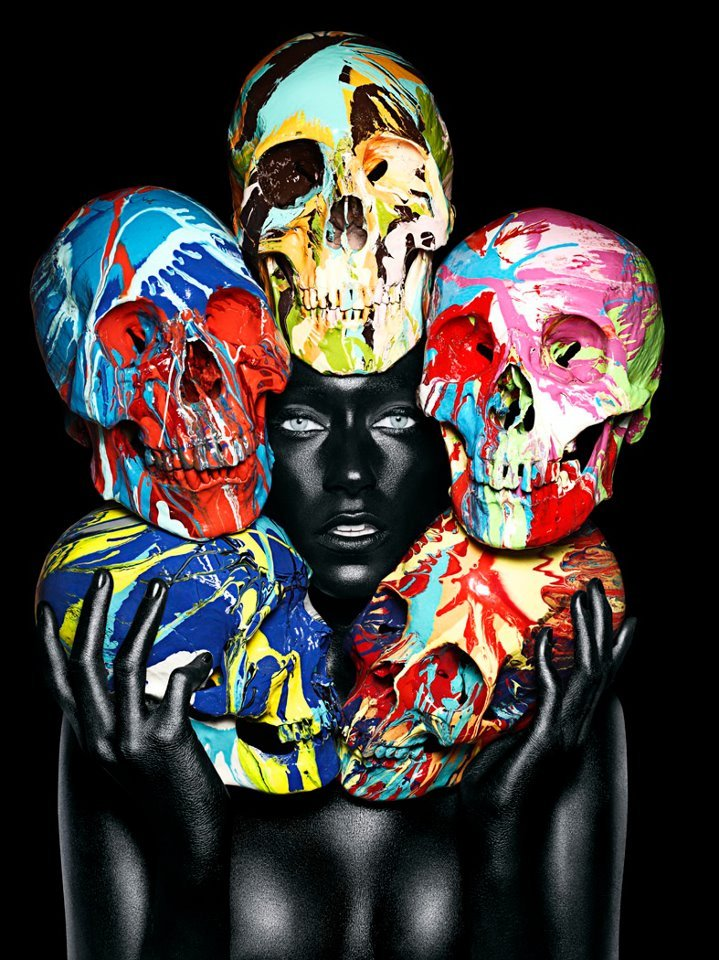 Rankin and Damien Hirst - two British Masterminds think better than one