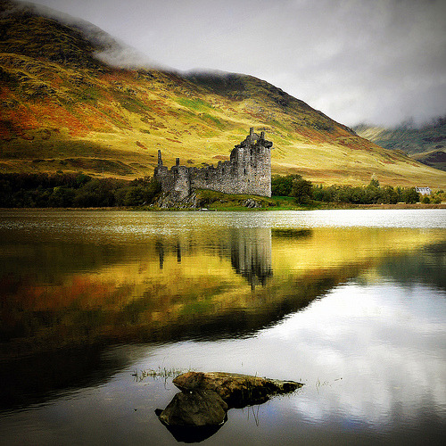 lori-rocks: Castle of Romance , ( Kilchurn Castle Loch )  By Kenny Barker
