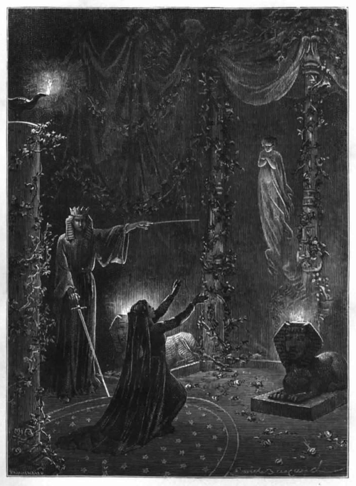 iseesigils:    Summoning the Beloved Dead (Histoire de la Magie) 1870