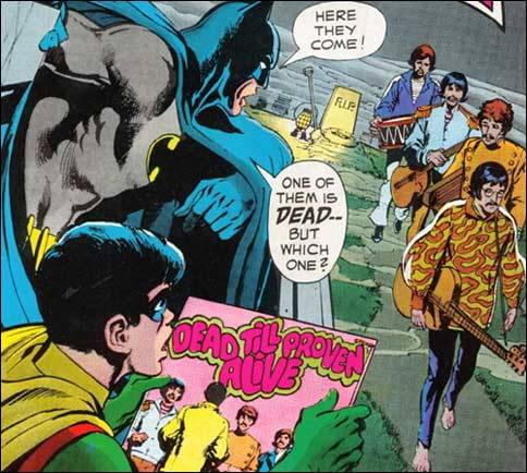 Batman and Robin think Paul's Dead Too