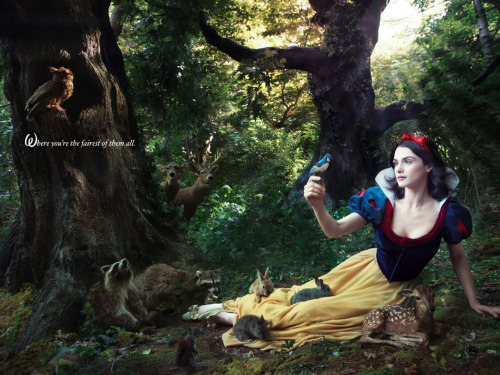 ohlalahenri:  DISNEY DREAM PORTRAITS by Annie Leibovitz  Rachel Weisz (Snow White)