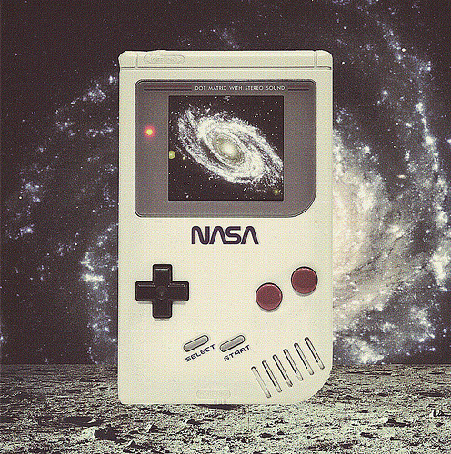 coryschmitz:  NASA Game Boy (by cory schmitz)