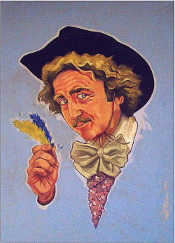 My tribute to Gene Wilder, combining 4 of his films; Blazing Saddles, Young Frankenstein, Willy Wonka and Stir Crazy. Prints available.