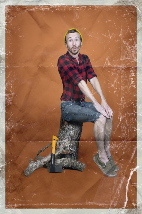 sexismandthecity:  Men-Ups: Manly Men In Classic Pin-Up Poses  This is probably one of the best projects ever.