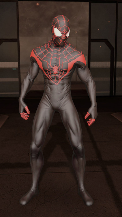 New Ultimate Suit Available in Spider-Man: Edge of Time | Superhero Hype thaught i won't love the new suit but.. IT'S FREAKIN AWESOME HE LOOKS LIKE BWAAHHHHH AWESOME!