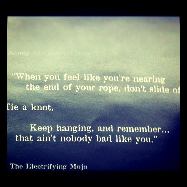 The Electrifying Mojo. Inside Submerge (Taken with instagram)