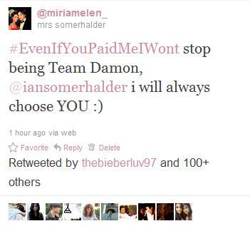 itsalwaysgonnabe-damon:  my tweet got 100+ RT's *.*