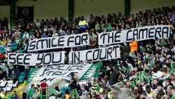 popes11:  The Green Brigade protest