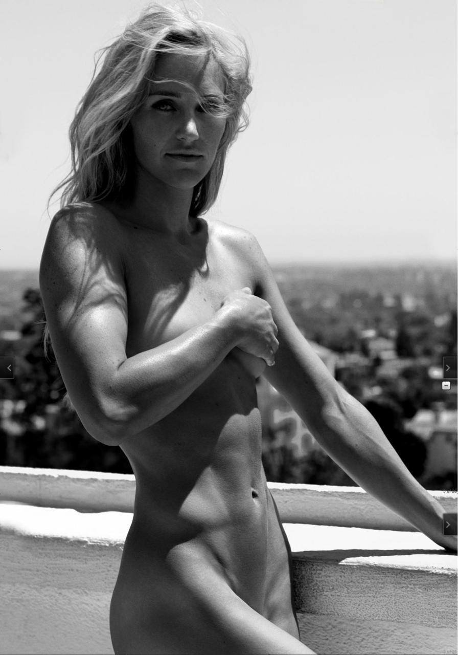 Olympic snowboarder Gretchen Bleiler (from the ESPN Body Issue).