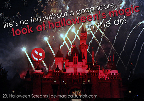 be-magical:  23. Halloween Screams Fireworks - Disneyland