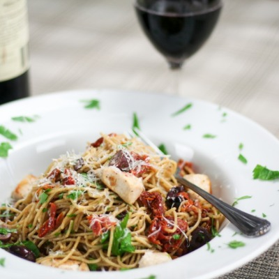 Chicken and Sundried Tomato Pasta Recipe