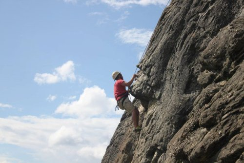 Climbing in Hinton, Alberta  I miss the Rock