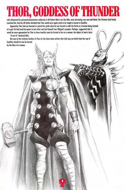 supespam:  Earth X Thor  by Alex Ross
