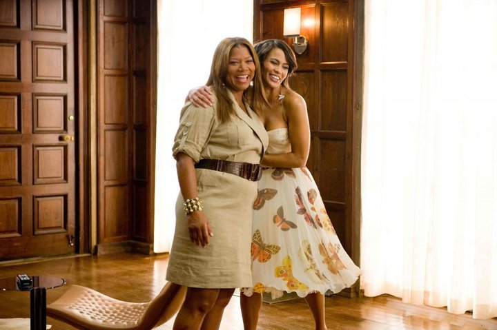 Paula Patton and Queen Latifah <3