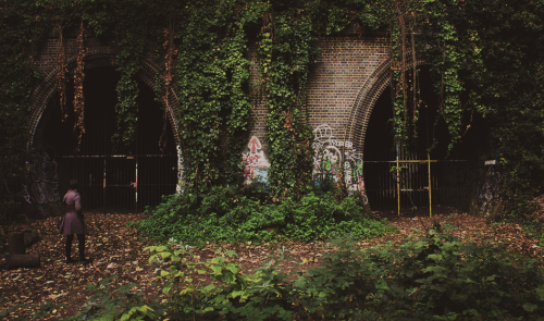 Old rail tunnels, Highgate, London