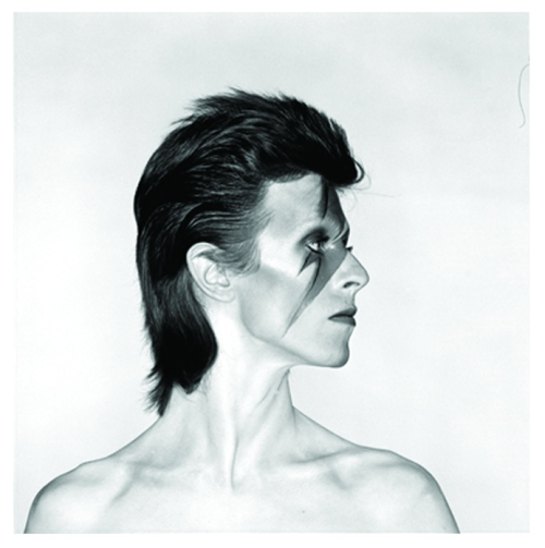 beardedseals:  Bowie Aladdin Sane alternate photo, by Brian Duffy.