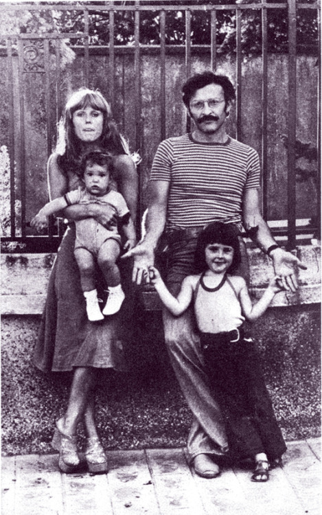 Jean Giraud and family, 1974
