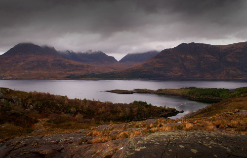 Torridon Mountains, Scotland, by Kenny Muir on flickr.