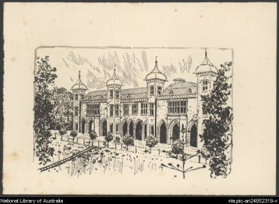 Government House, Perth - James Archibald Campbell