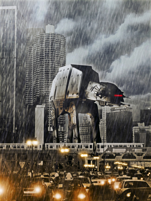 tiefighters:  AT-AT Two - by Tony Bamber