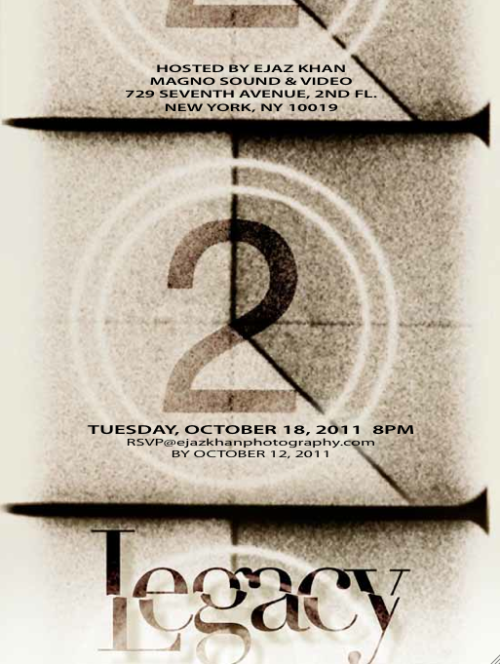 "Please RSVP if you want to come for the screening for my short film ""legacy"""